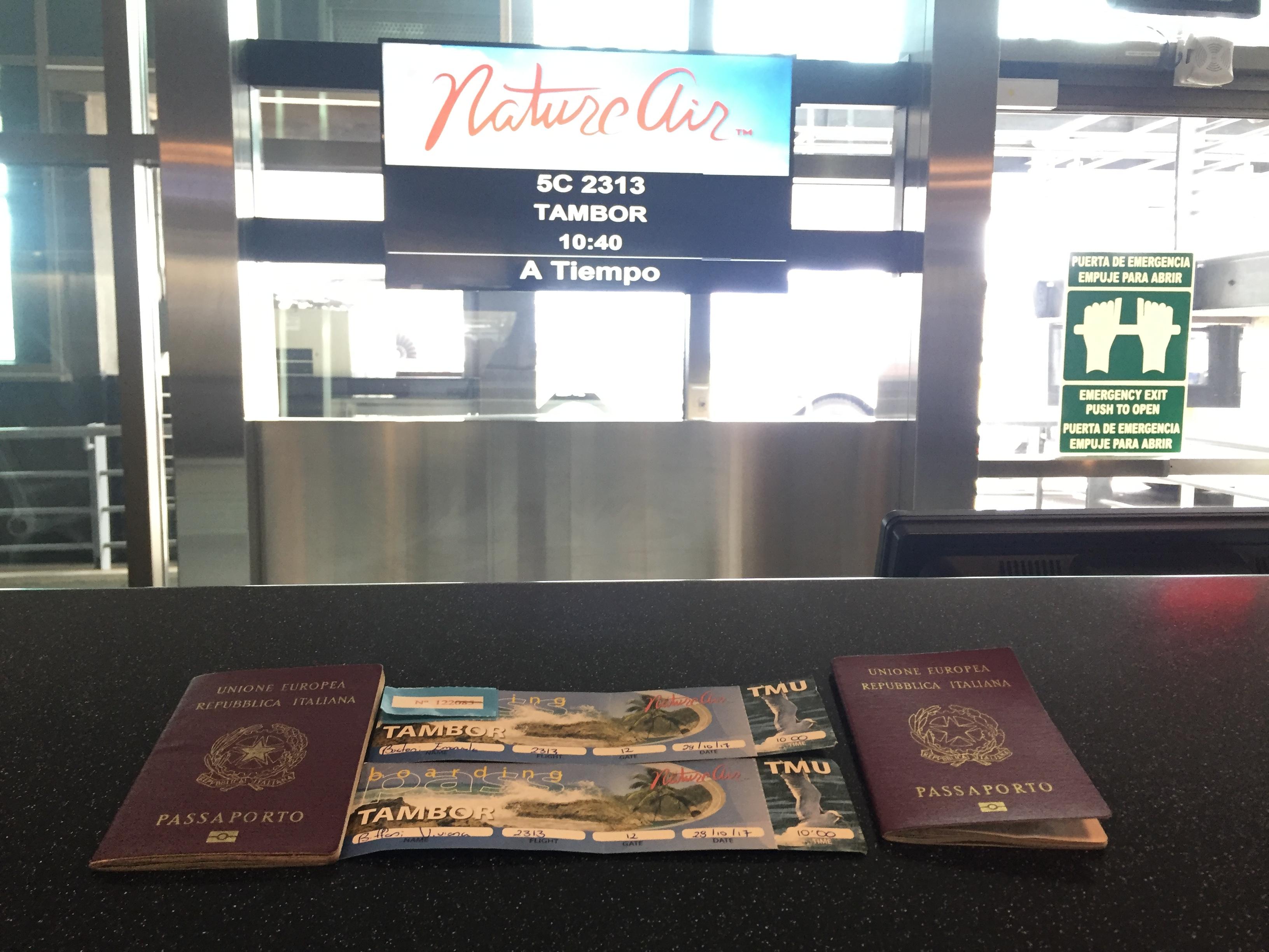 Aeroporto Viaggio Aereo Costa Rica